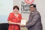 National Chamber Hosts the Cuban Ambassador