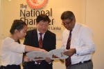 Delegation from Jiangsu Province , China, Visits the National Chamber