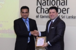 National  Chamber  Hosts  the Afghanistan Charge d'affairs