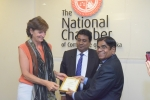 National Chamber Hosts the Ambassador of Netherlands