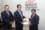 Bangladesh High Commissioner visits the Chamber