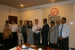 Chinese Delegation Visits the National Chamber
