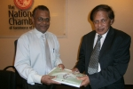 Visit of H.E. Sarath Wijesinghe Sri Lanka Ambassador in Israel to the Chamber on  6 June 2013