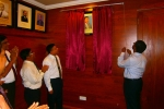 Unveiling of  photo of Mr Asoka Hettigoda